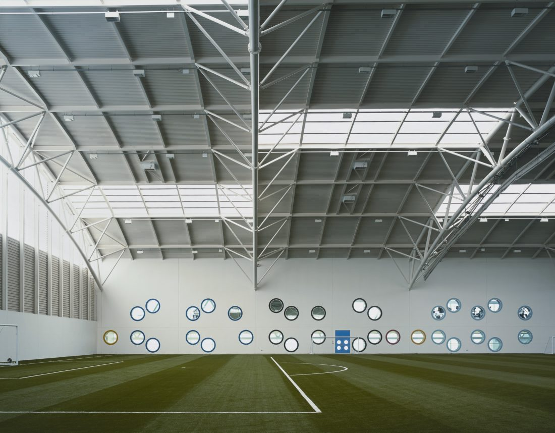Regional Sports Facility, University of Aberdeen interior
