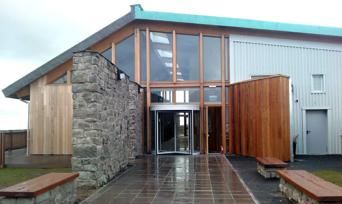 Whitelee Windfarm Visitors Centre Exterior Entrance