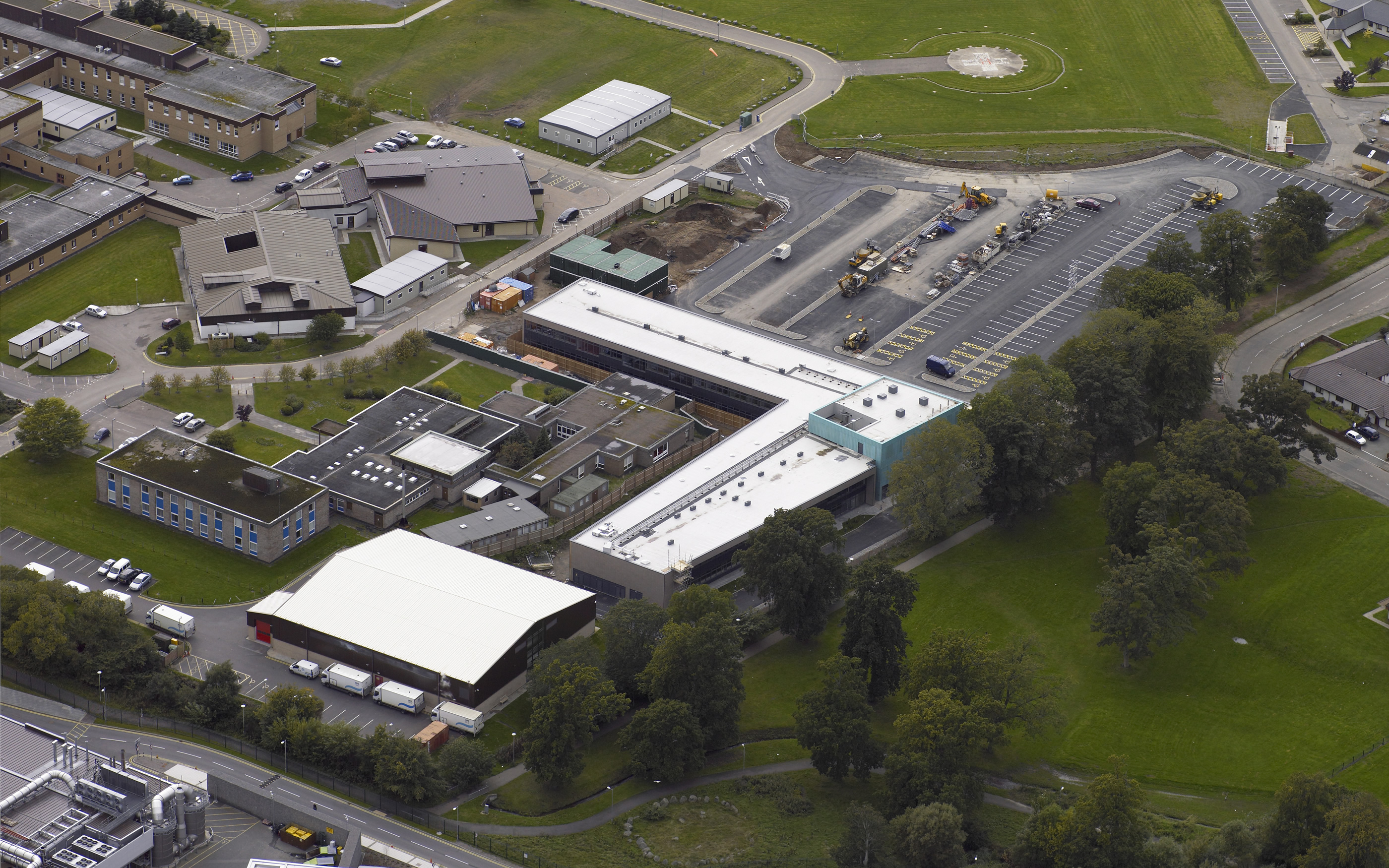 Centre for Health Science, Inverness - Aerial view