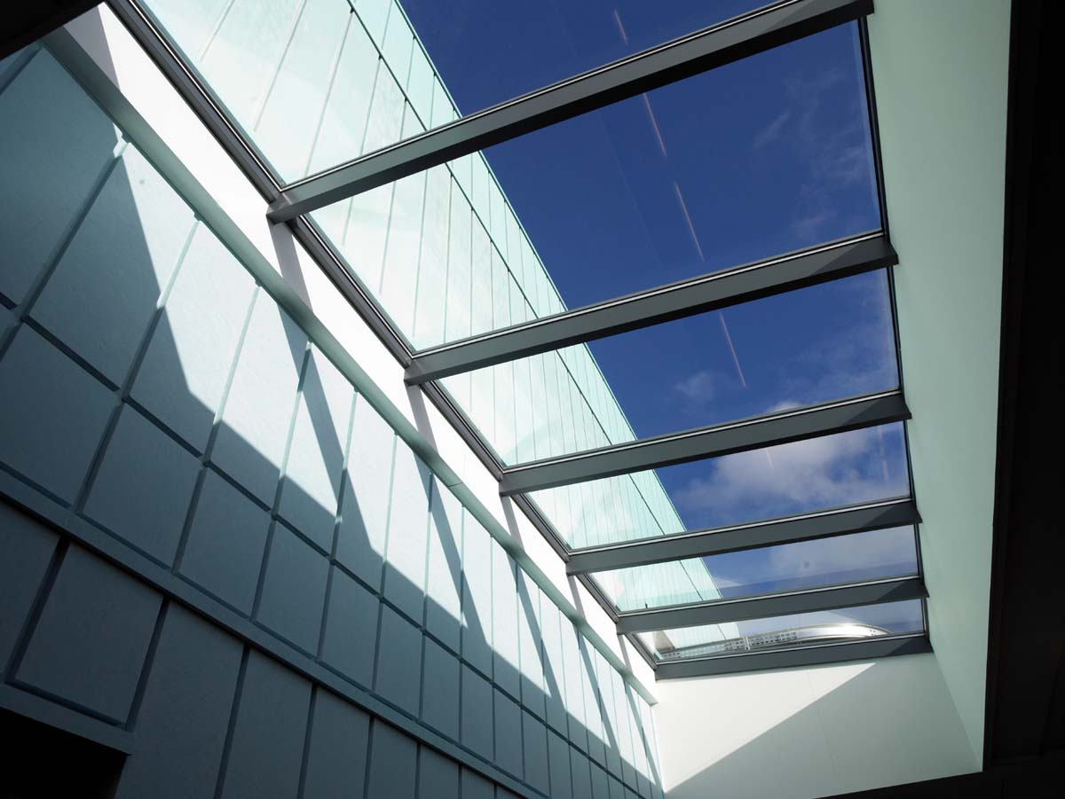 Centre for Health Science, Inverness - glass roof