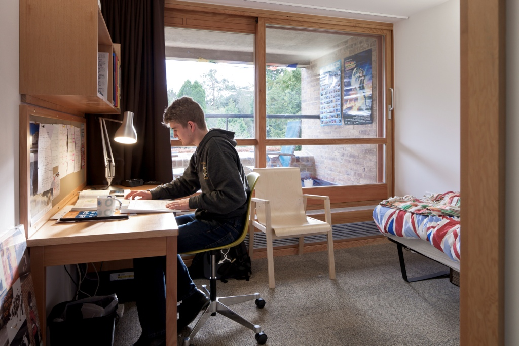 Harvey Court, Gonville and Caius College, Cambridge Room