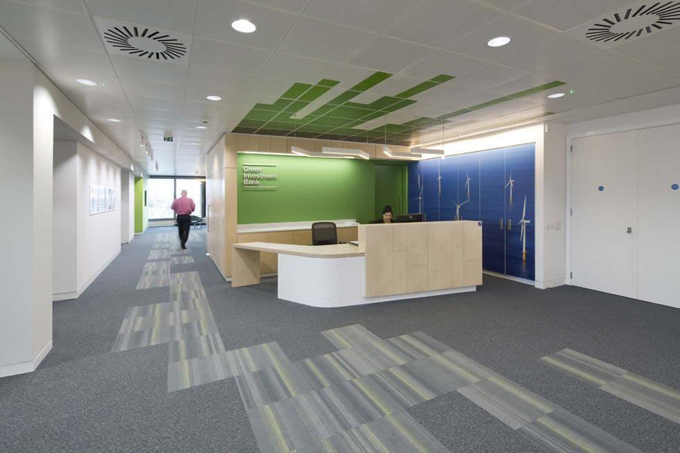 Green Investment Bank, Edinburgh reception