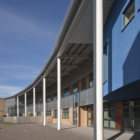 Vale of Leven Academy Entrance